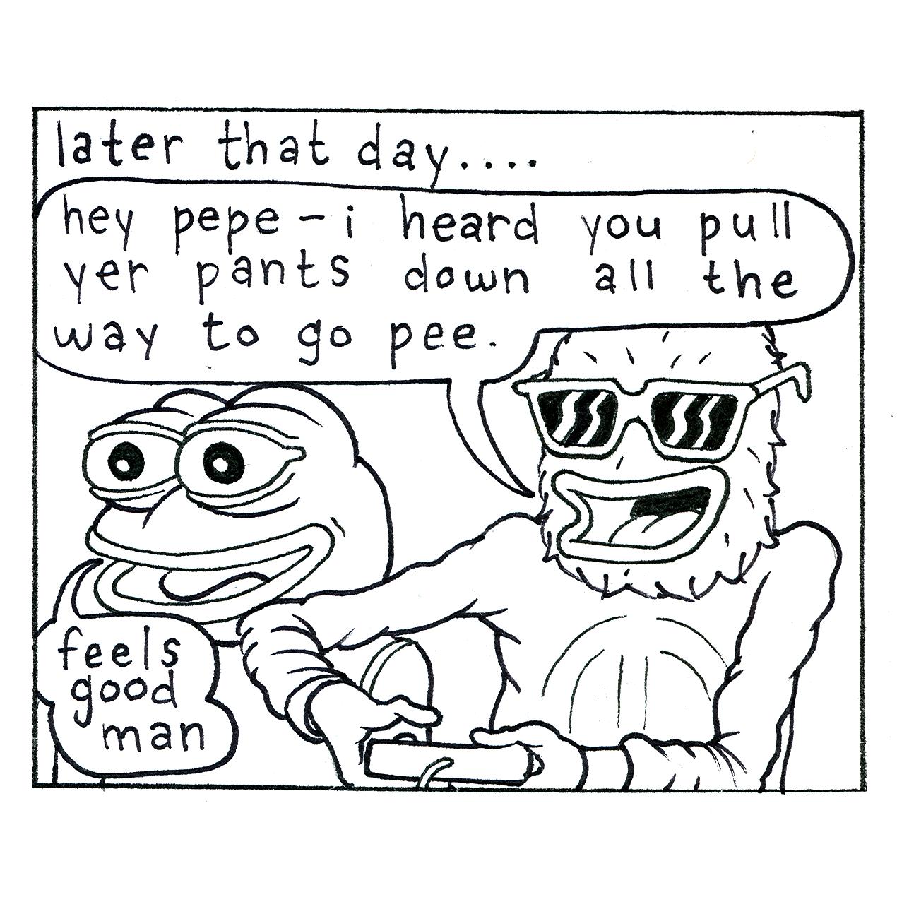 Pepe the Frog NFT Genesis